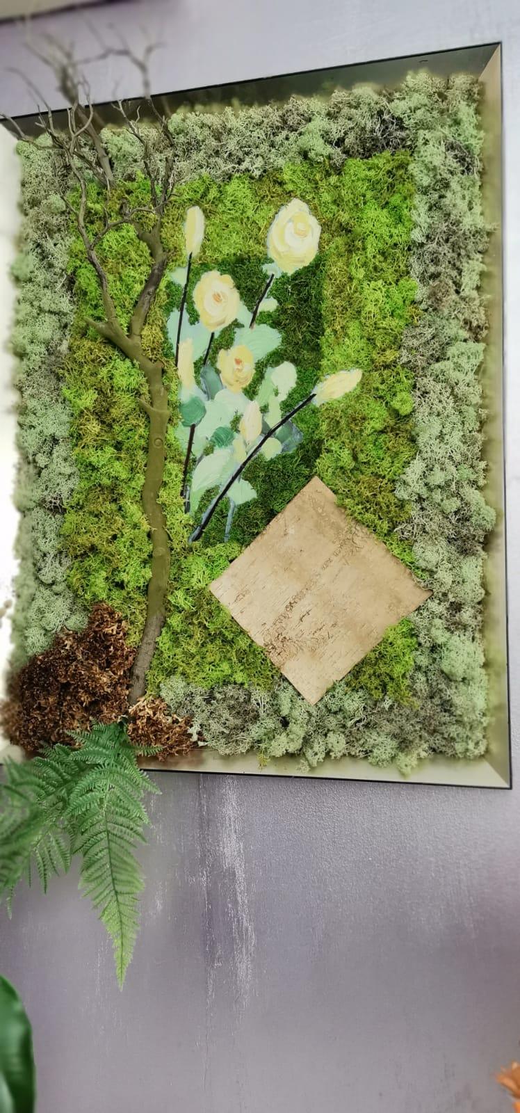 Tablouri cu licheni